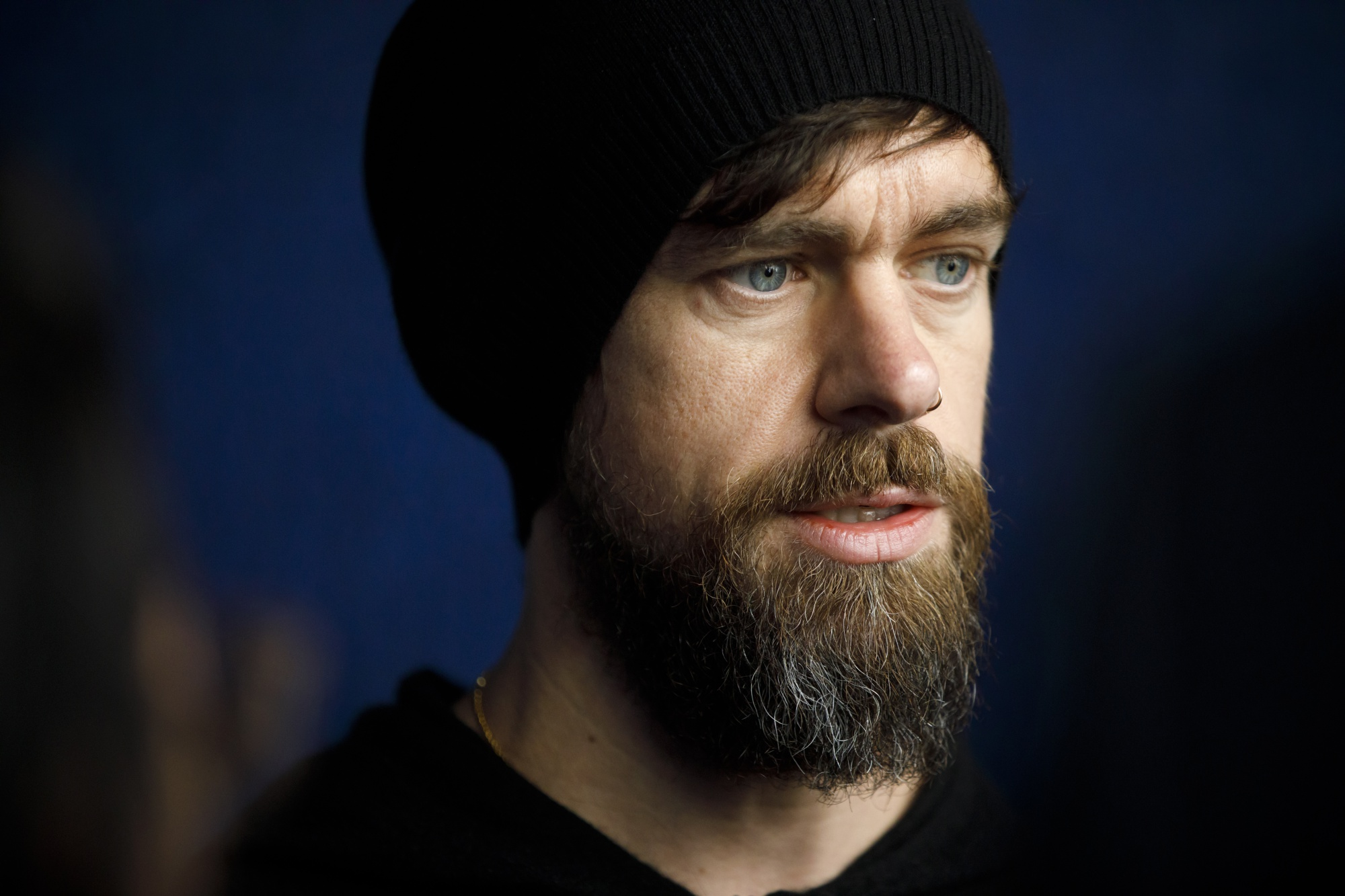 Twitter Ceo Jack Dorsey Gives Talk At Apple Headquarters Bloomberg