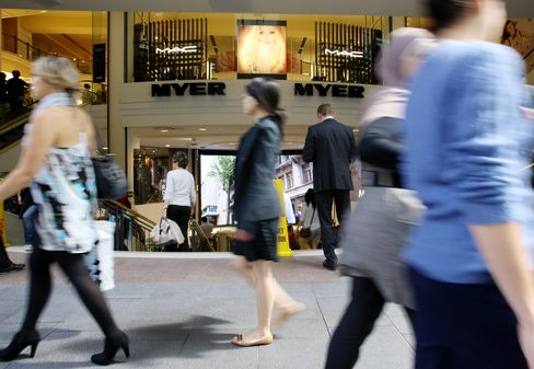 central bank cutting its benchmark interest r Australian Stores