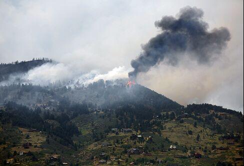 Colorado Wildfire Keeps Tourists Away