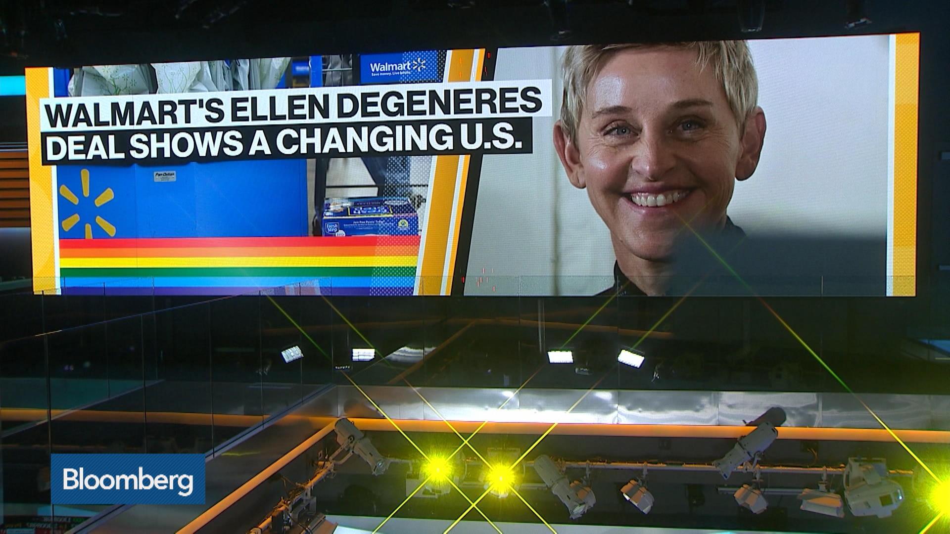 Walmart's Ellen Degeneres Deal Shows a Changing U.S.