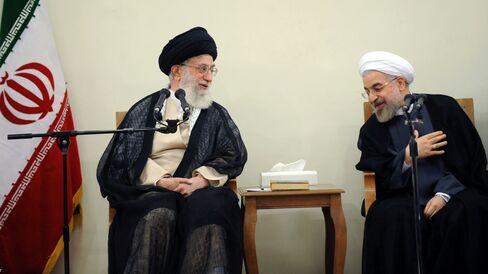 Iranian Supreme Leader Khamenei & President Rouhani