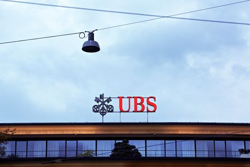 UBS Reports Profit Increase, Settlement Over U.S. Mortgage Bonds