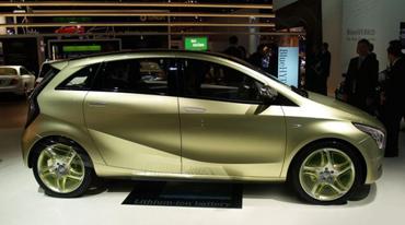 Mercedes' BlueZERO Hydrogen Concept