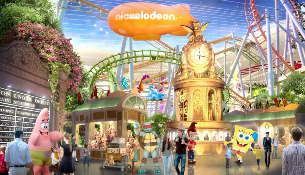 American Dream Mall In New Jersey Open