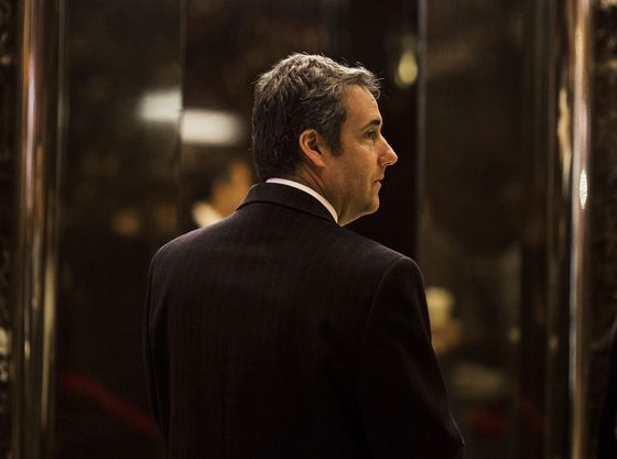 Mueller Obstruction Inquiry Leaves Trump Few Options With Cohen