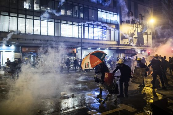 China Warns Hong Kong Unrest Goes 'Far Beyond' Peaceful Protest