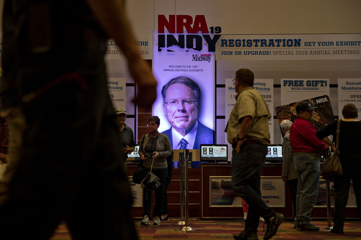 NRA Board Member Demands LaPierre Probe in Bankruptcy Case