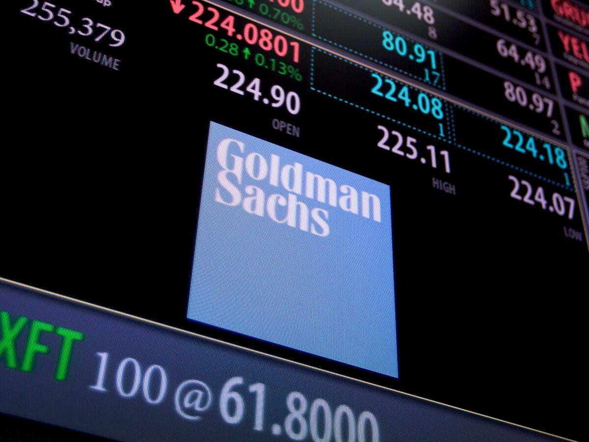 Goldman Falls as Equity Trading, Banking Backlog Declines