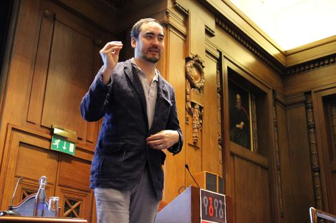 Tim Wu, author and Internet theorist, speaks at ORGCon 2013.