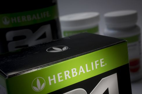 Herbalife Rises to Highest Price Since Ackman Pyramid Allegation