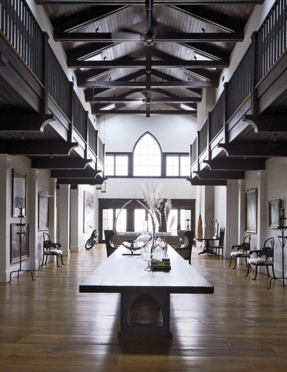 John Mellencamp's living room