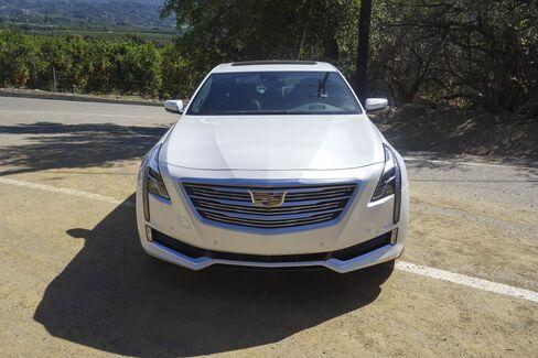 The 2016 Cadillac CT6.