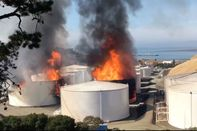 relates to Fire at San Francisco-Area Fuel Terminal Prompts Alerts
