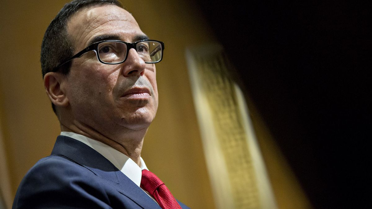 Mnuchin's Incomplete Treasury Staff Could Be a Risk in Crisis