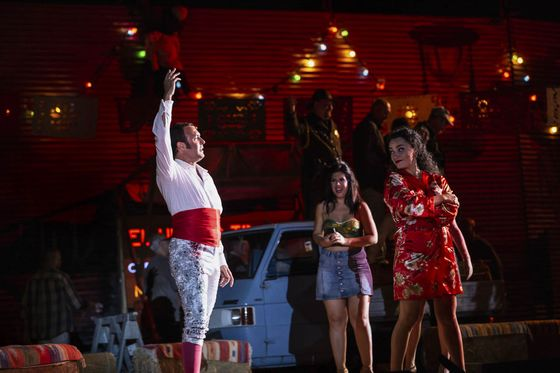 Rome Production of Bizet's Carmen Features ICE Agents, #MeToo