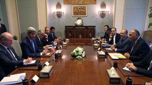 U.S. Secretary of State John Kerry in Egypt