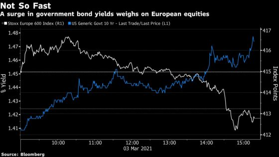 European Stocks Steady as U.K. Budget Winners Boost FTSE 100