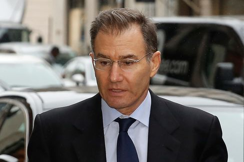Glencore Plc Chief Executive Officer Ivan Glasenberg arrives at the Africa Summit in London, today.