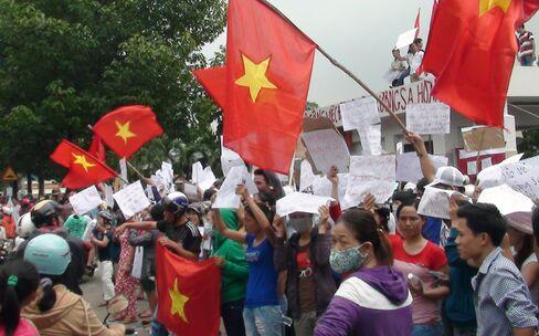 Anti-China protests in Vietnam