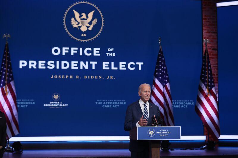 Joe Biden: No hay tiempo que perder.