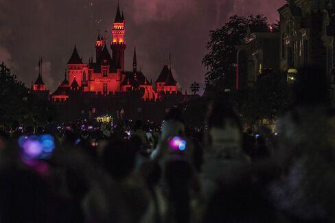 Inside The Walt Disney Co.'s Hong Kong Disneyland Park Ahead of GDP Figures