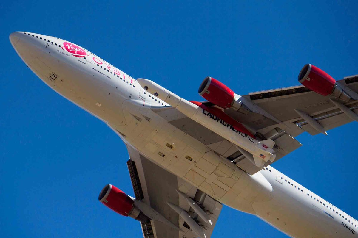 Billionaire Branson's Virgin Orbit sends Satellites into Space