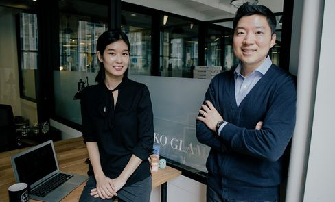 Charlotte Cho and Dave Cho at Soko Glam headquarters in New York, New York, U.S. Source: Soko Glam