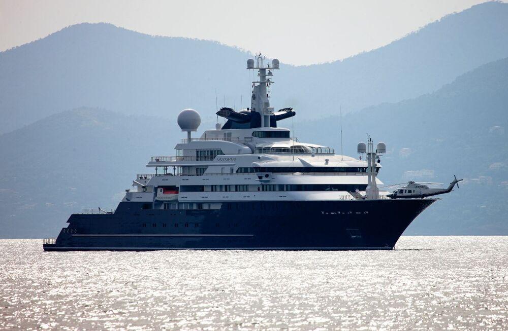 Paul Allen's Mega-Yacht on Sale for $326 Million - Bloomberg