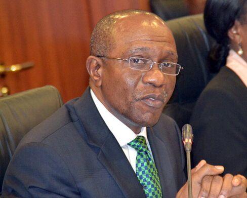Nigeria's Central Bank Governor Godwin Emefiele