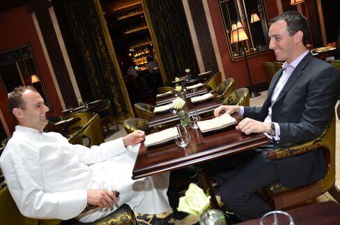 Chef Daniel Humm and Will Guidara