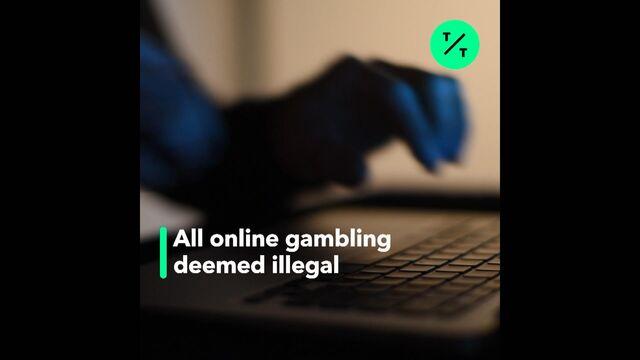 U S  Online Gambling Reversal Puts 'Chill' on Industry
