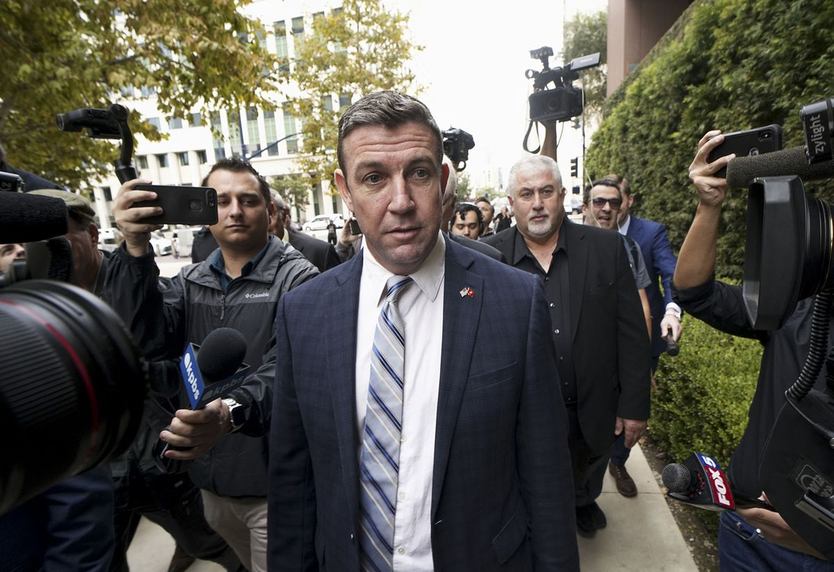 GOP Congressman Duncan Hunter to Resign After Holidays