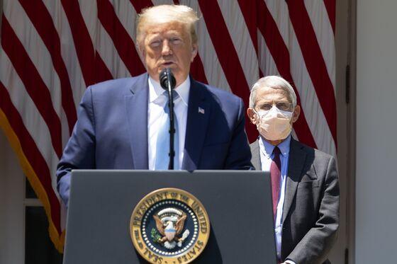 Trump Minimizes Spike in Virus Cases, Calls Fauci 'Alarmist'