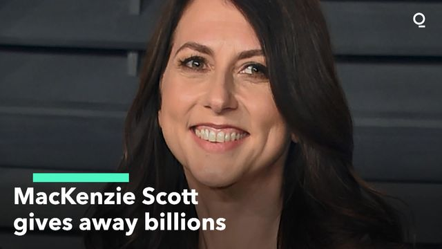 MacKenzie Scott Gives Away Billions
