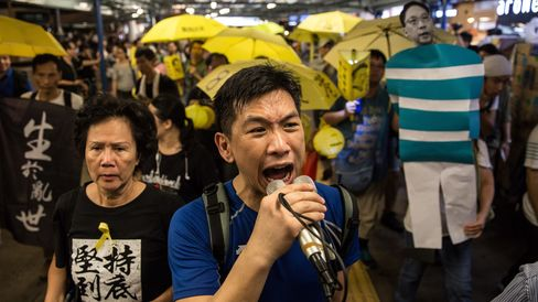 HONG KONG-CHINA-POLITICS-DEMOCRACY