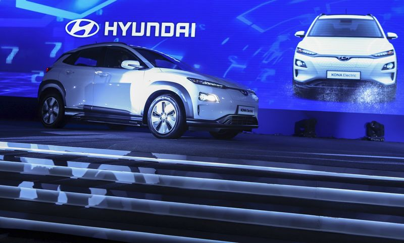 Hyundai Launches The Kona Electric, India's First Full-fledged Electric Vehicle