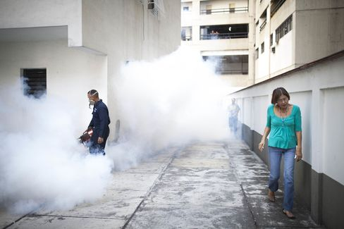 Municipal Workers Fumigate Homes As Spread Of Zika Virus Intensifies