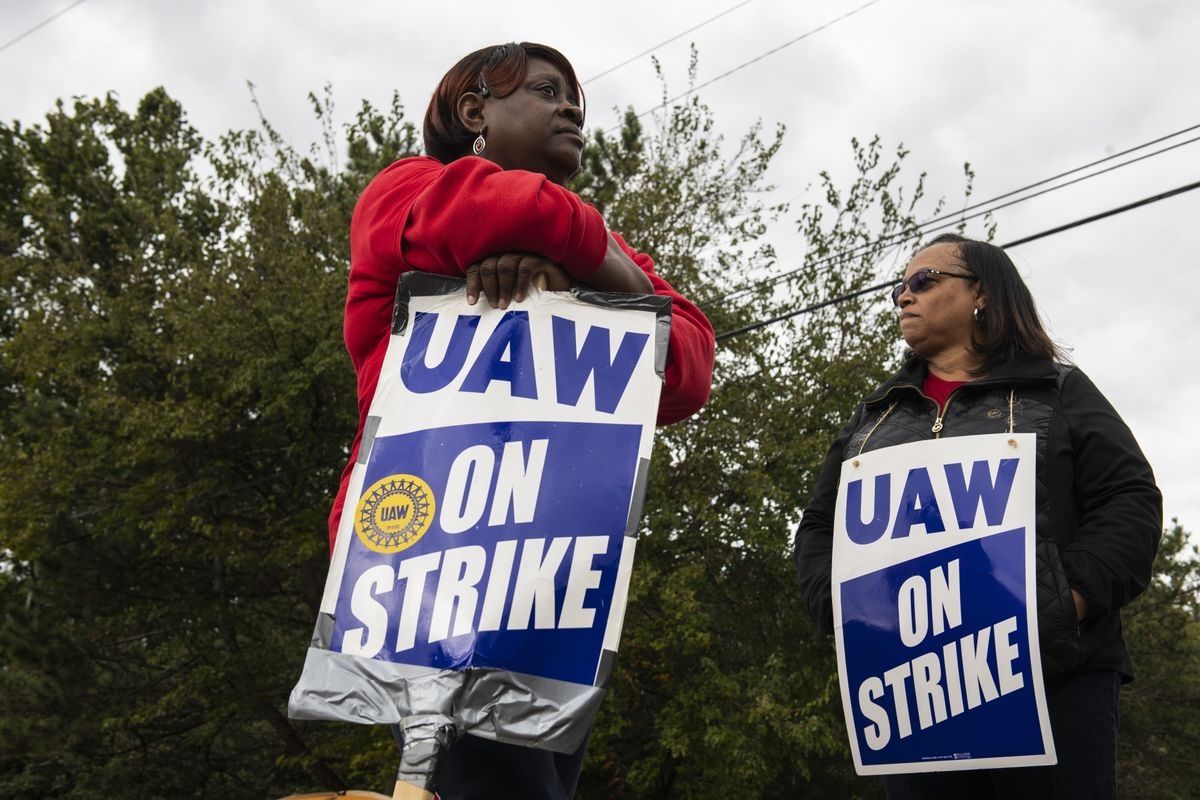 GM's $2 Billion Blow From Strike Also Hits Union Workers' Wallets