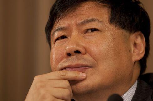 Chinese Vice Finance Minister Zhu Guangyao