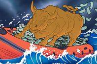 relates to Wall Streeters Reel In Riches From a Year of Unequal Rescues