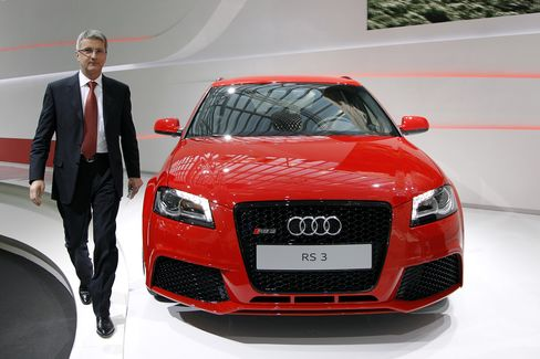 Audi to Add Models, Expand in BRIC Markets to Topple BMW