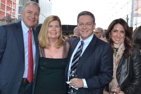 David and Susan Viniar with Stephen and Susan Scherr