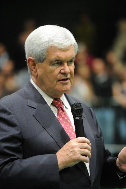 Former U.S. Speaker Of the House Newt Gingrich