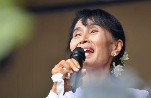 Myanmar Dissident Aung San Suu Kyi