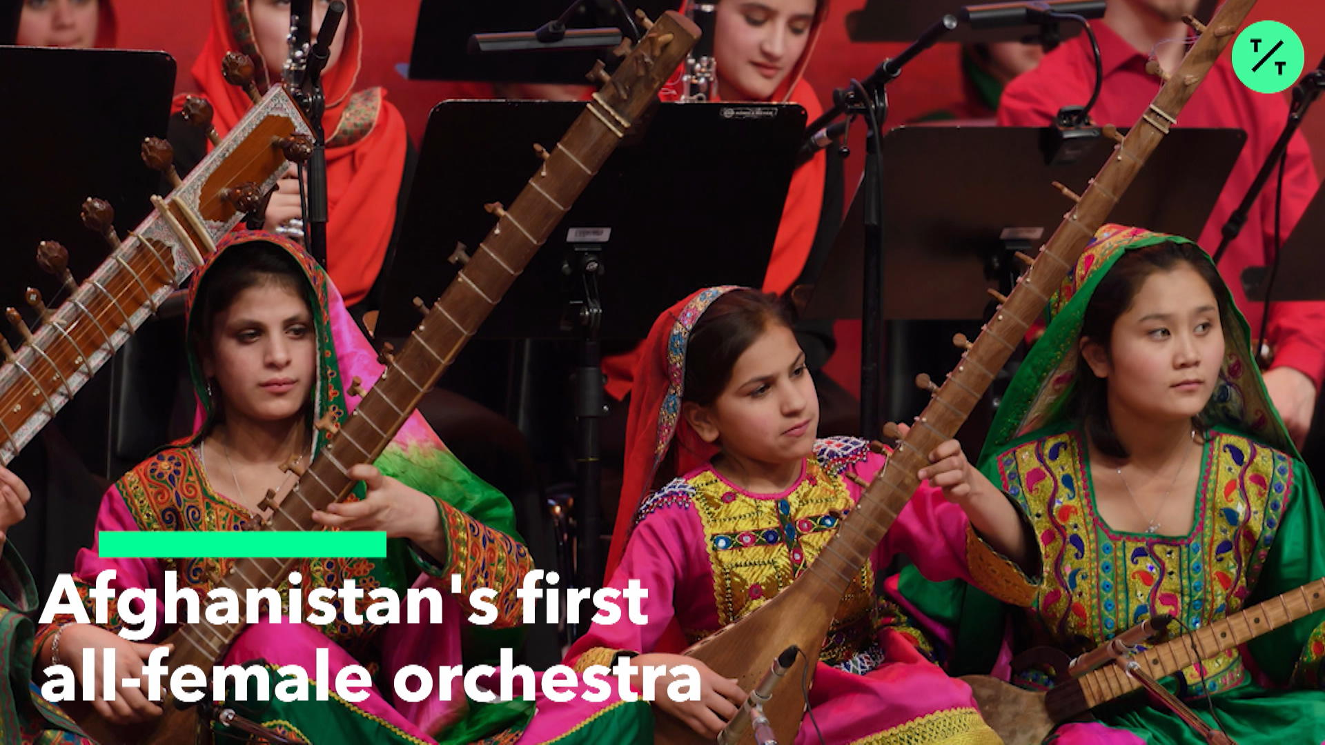 Afghanistan's First All-Female Orchestra