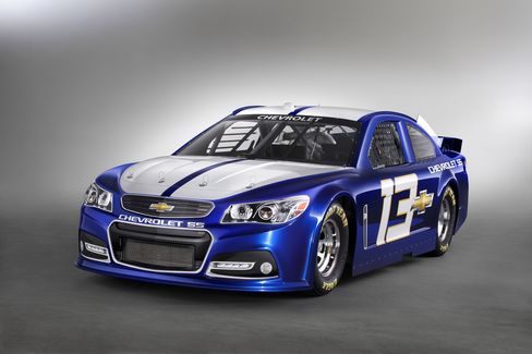 GM Says Nascar Version of Chevy SS Similar to Production Model