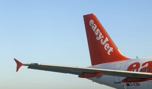 EasyJet First-Quarter Sales Gain as Competitors Trim Capacity