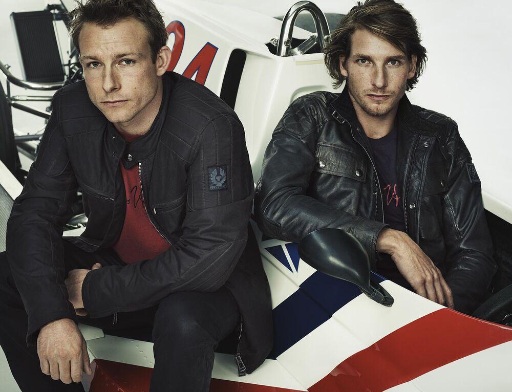 c87a7d2606ff Belstaff s New Collection Honors Formula 1 Legend James Hunt - Bloomberg