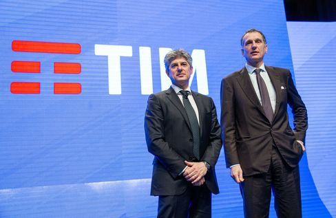Telecom Italia SpA Chief Executive Officer Marco Patuano Presents The New Unified Branding For Mobile, Fixed Line And Internet Businesses
