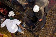 oil rig shale texas